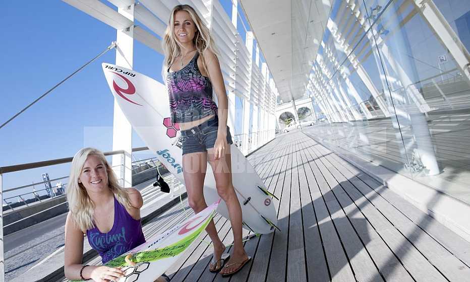 Bethany Hamilton and Alana Blanchard